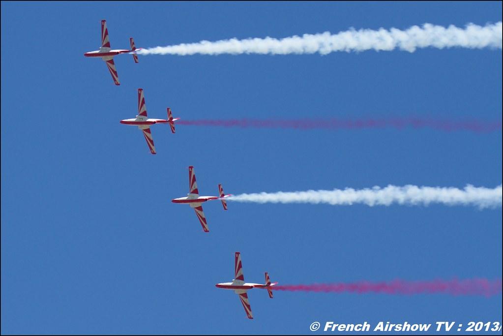 Team Iskra (Patrouille Polonaise), 60 ans Patrouille de France, Meeting Aerien 2013