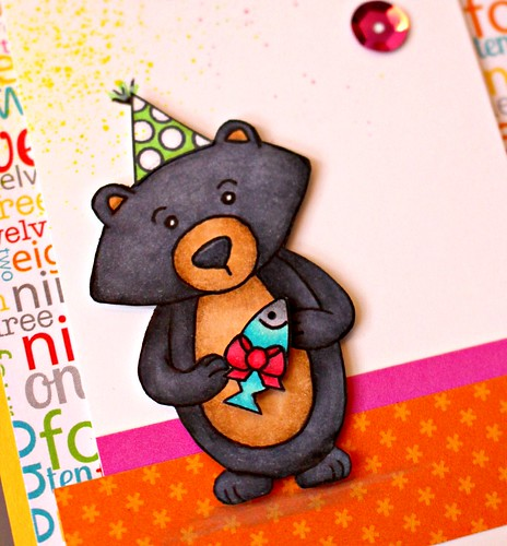 Bear Party Card 2