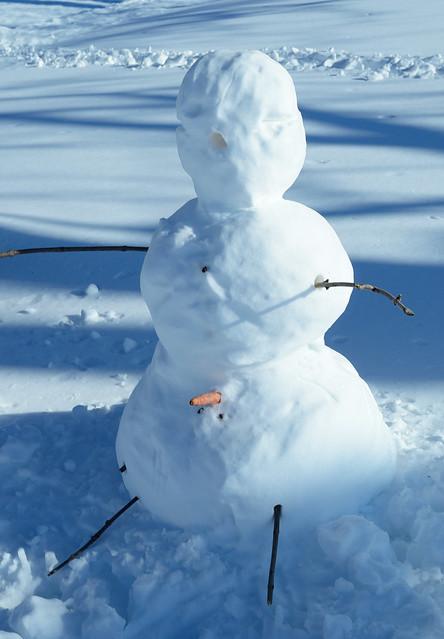 Frosty's got a boner