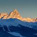 Le premier soleil sur les Grandes Jorasses (Valle d'Aosta) by Sisto Nikon - CLICKALPS PHOTOGRAPHER