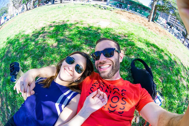 Nan and Deya at the Park Selfie SXSW