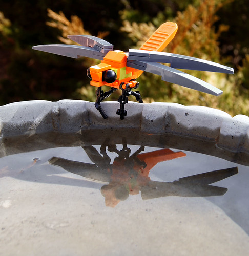 Brick Breaker Dragonfly by customBRICKS