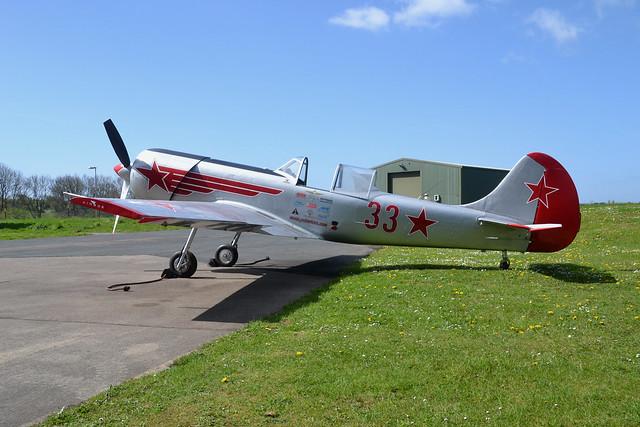 33/red G-YAKZ Yakovlev Yak-50