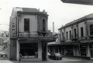 Broadway buildings to be demolished, March 1970