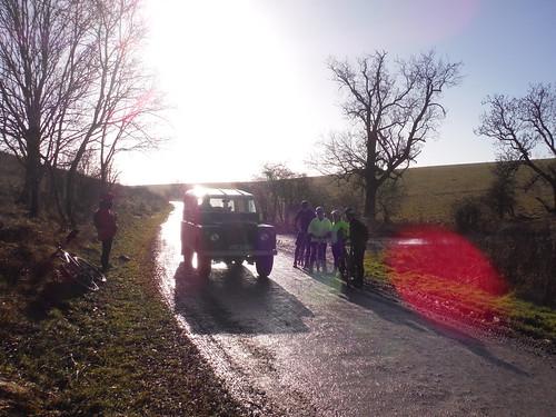 Imber Range, Traffic on Open Day