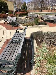 Kensington MD ~ town center benches