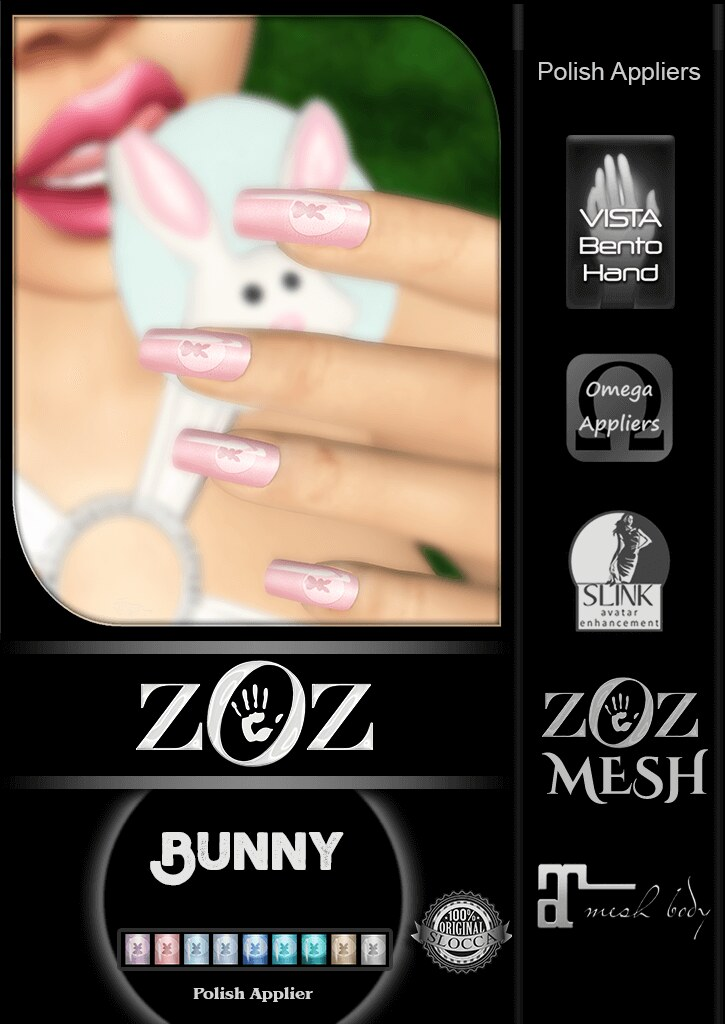 {ZOZ} Bunny pix L - SecondLifeHub.com