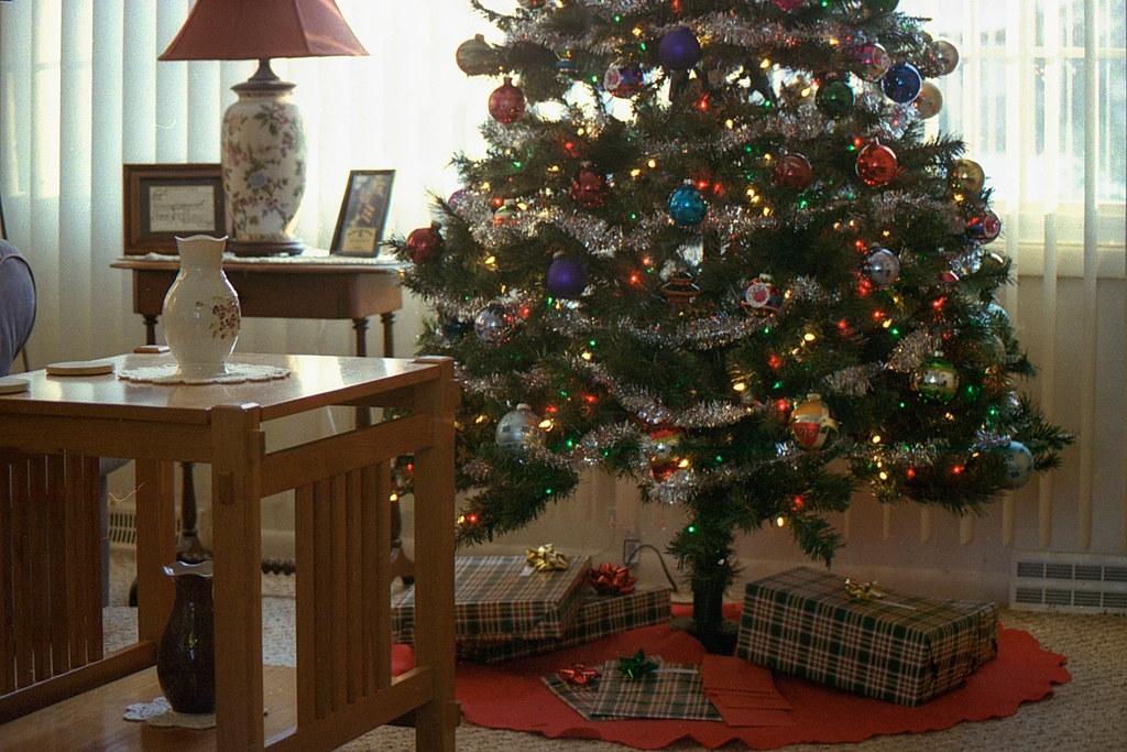 Under my Christmas tree