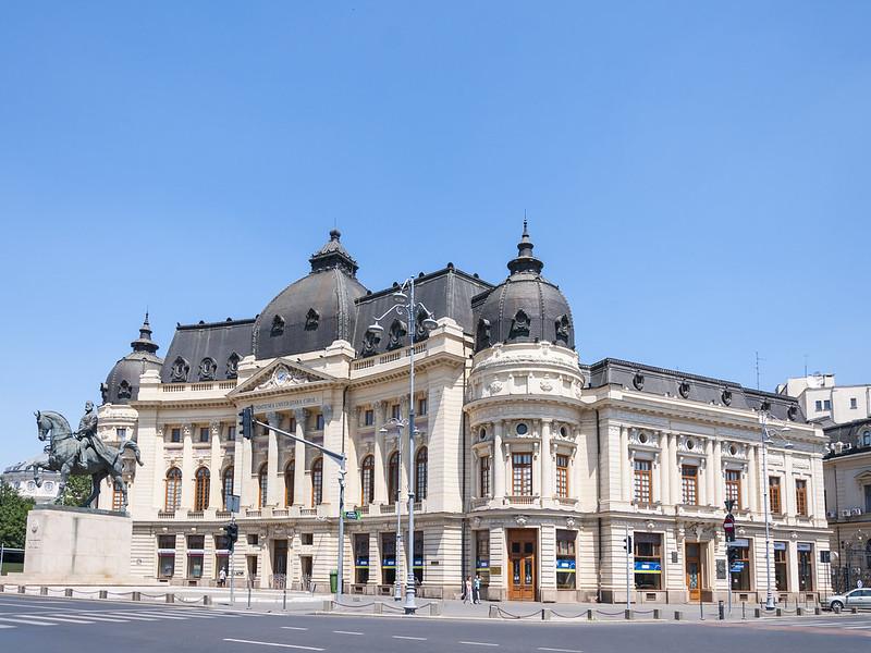 Around the Revolution Square - Bucharest, Romania