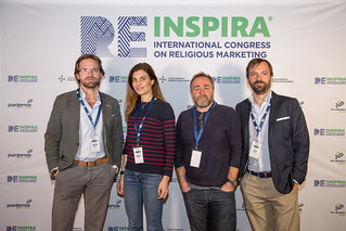 Photocall #REinspira I Congreso Internacional de Marketing Religioso