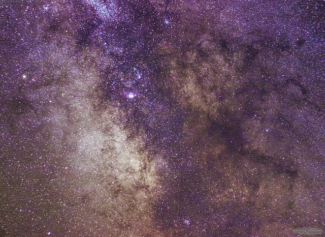 Centre of the Milky Way (no tracking mount)