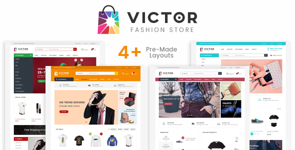 Victor v1.0 – Fashion Responsive Prestashop Theme