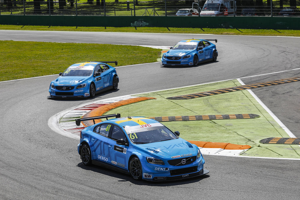 61 GIROLAMI Nestor (arg) Volvo S60 Polestar team Polestar Cyan Racing action 62 BJORK Thed (swe) Volvo S60 Polestar team Polestar Cyan Racing action 63 CATSBURG Nicky (ned) Volvo S60 Polestar team Polestar Cyan Racing action MAC 3 during the 2017 FIA WTCC World Touring Car Race of Italy at Monza, from April 28 to 30  - Photo Francois Flamand / DPPI