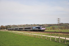 CC 72190 ,sur le train intercité 1541 - Ouge ( 70 ) - Photo of Champigny-sous-Varennes