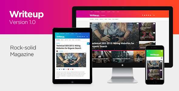 Writeup WordPress Theme free download