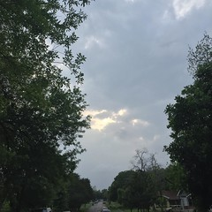 10 April 2017 #sunset #samespotforayear #nofilter #vso #vsocam #storms
