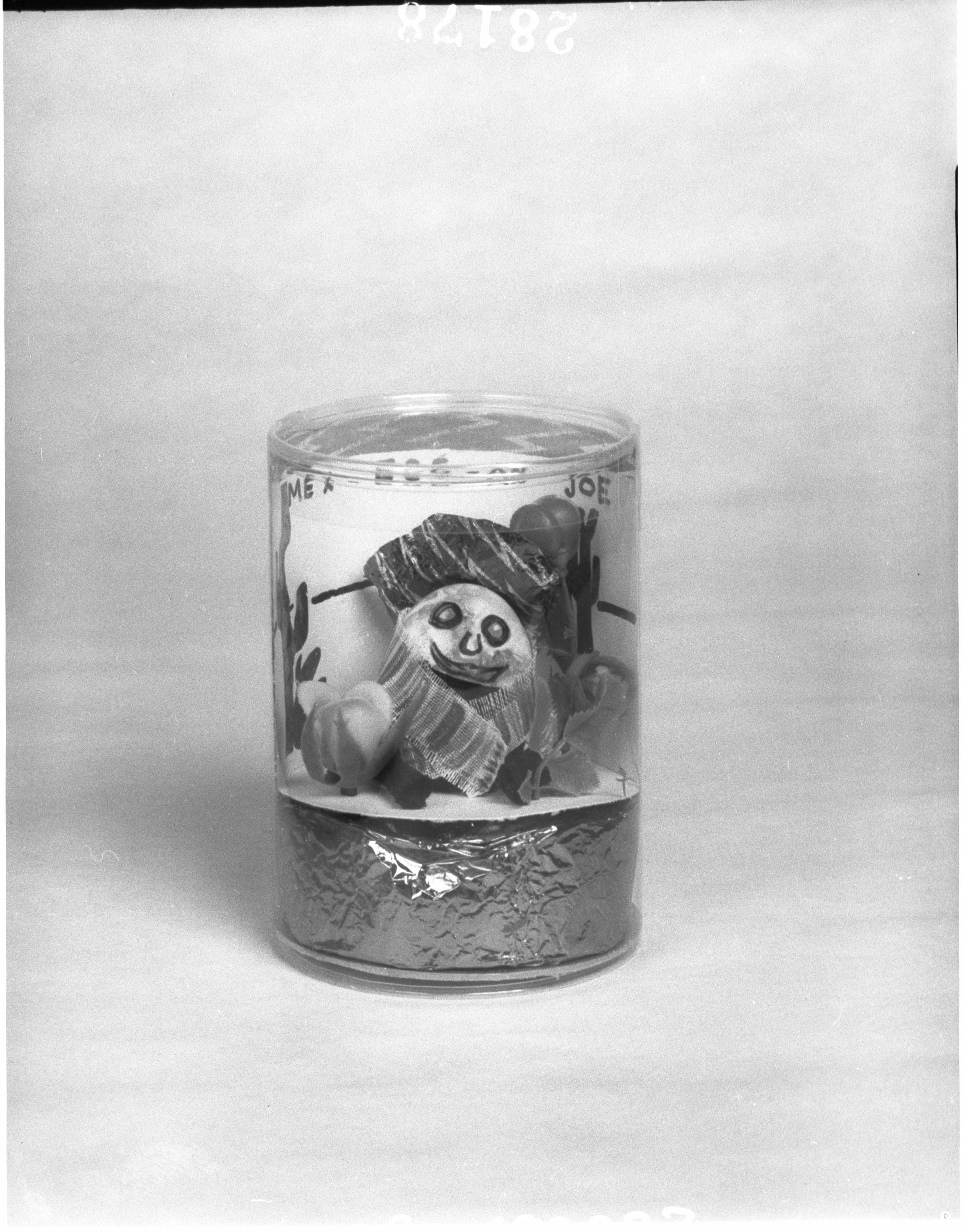 APA studio photographs of hens' eggs painted to make figurine ornaments,  Tony Middleton, APA