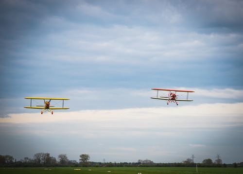 Kiebitz Formation Flight
