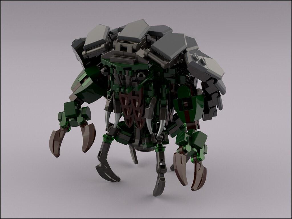 [Fallout 4] Mirelurk (custom built Lego model)