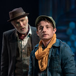 Waiting for Godot - Arvada Center 2017 - Pictured L-R: Sam Gregory (Vladimir) and Sean Scrutchins (Boy) Photo Credit: M. Gale Photography 2017
