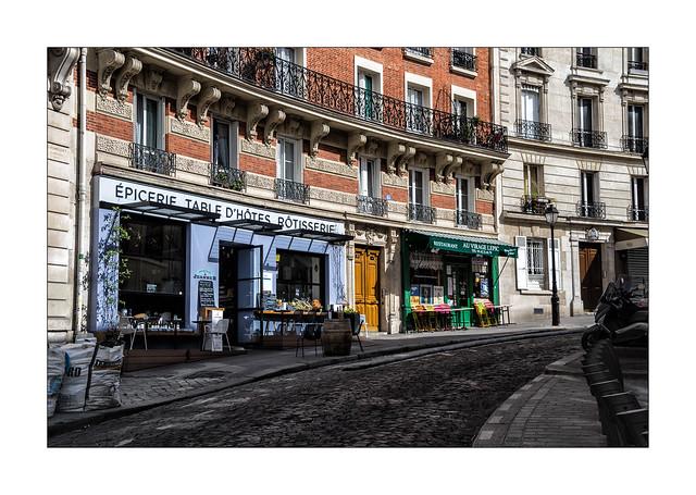 Et puis il y a eu la rue Lepic...