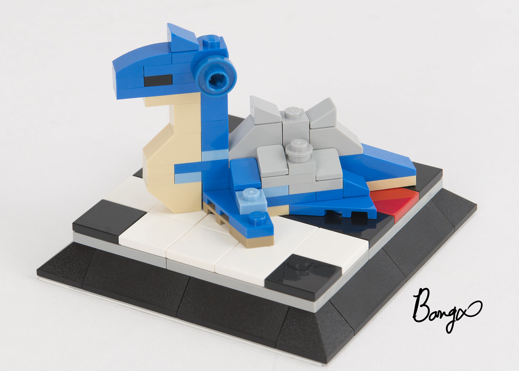 Lapras (custom built Lego model)