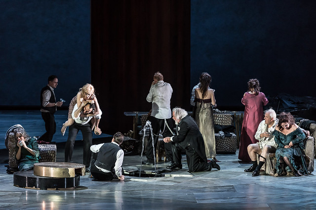 The principals in The Exterminating Angel (C) ROH 2017. Photograph by Clive Barda
