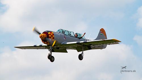 Yak-52 after acrobatic display