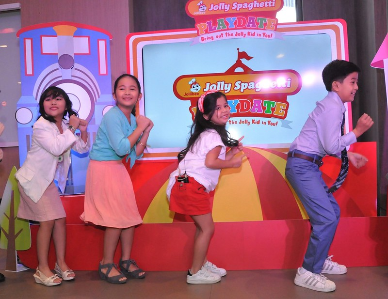 Xia dancing with JolliKids