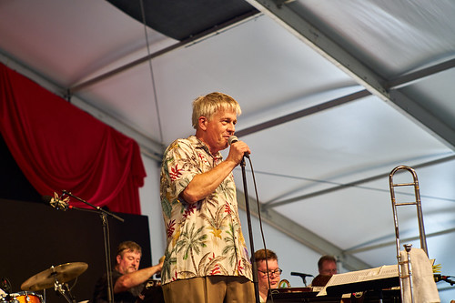 The John Mahoney Big Band. Photo by Eli Mergel