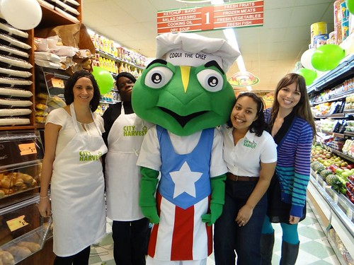 Coqui the Chef with City Harvest