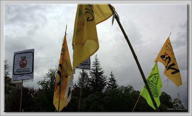 14 Manifestación contra el fracking en Burgos