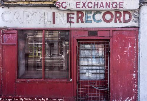 Caroline Records Shop In Portobello (opened in 1956 closed in 2003)