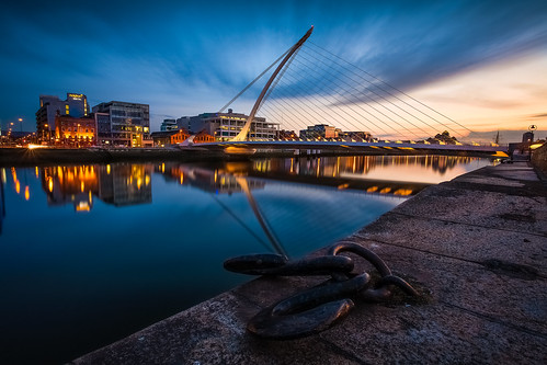 city longexposure bridge ireland sunset dublin architecture river spring cityscape nightscape wideangle shore nd canon5d canonef1740mmf4lusm goldenhour riverliffey éire baileáthacliath lowiso naturaldensity nd8 citynightscape anlife naturaldensityfilter samuelbeckettbridge canon5dmki canon5dclassic droicheadsamuelbeckett cityandarchitecture