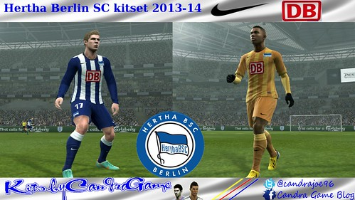 Hertha Berlin SC 2013-14 kitset by CandraGame