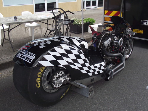 Harley davidson Methenol Drag Bike