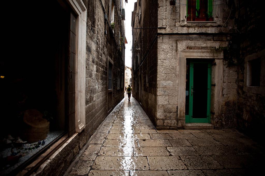 Rainy Split | Croatia