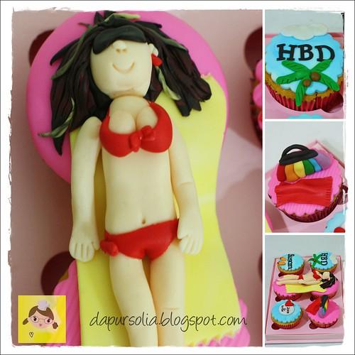Bikini Cupcake