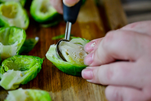 Brussels Sprouts Stuffed with Cheese-4