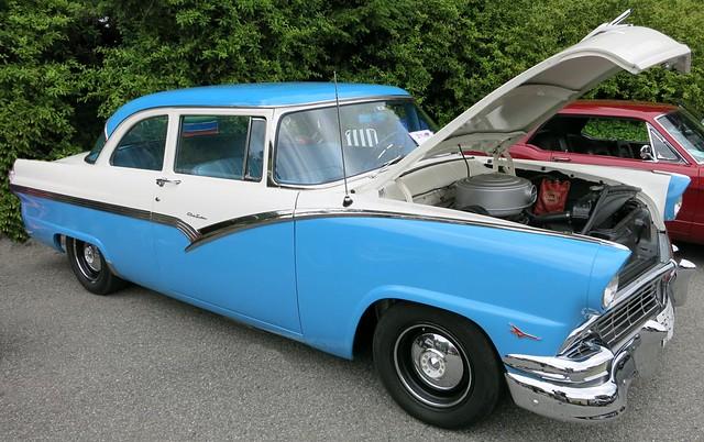 1956 ford custom 2 door sedan flickr photo sharing for 1956 ford 2 door wagon