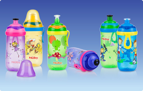 Nuby Printed Pop-up Sipper