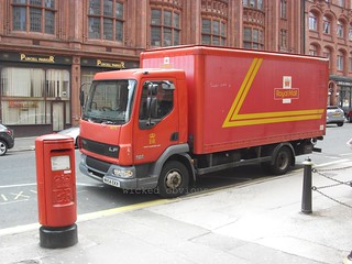 Royal Mail DAF LF 45.130 MV54 EKX (BM715)
