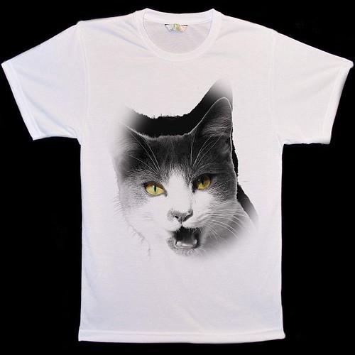 Big-Animal-Face-Meow-Cat-T-Shirts