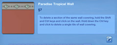 Paradise Tropical Wall 2