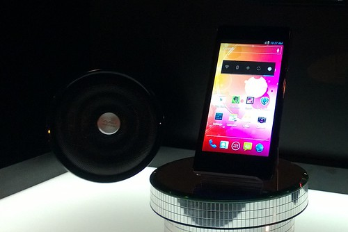 Prestigio MultiPhone 5430 ir Intel kartingai ant stogo