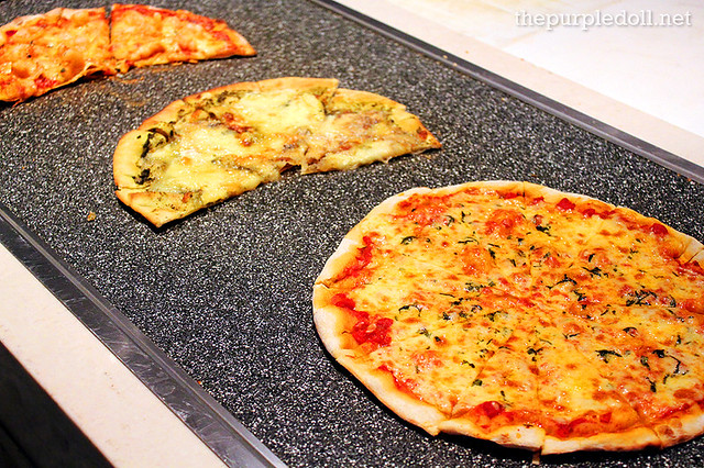 Wood Fired Oven Pizzas at Spiral Sofitel Manila