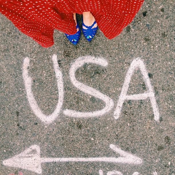 Happy 4th from our patriotic streets.