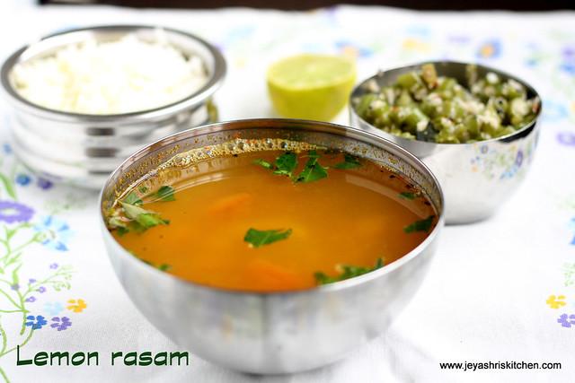 Lemon rasam 1