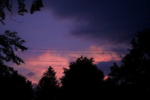 pink blue sunset sky colors purple storms sunsetporn