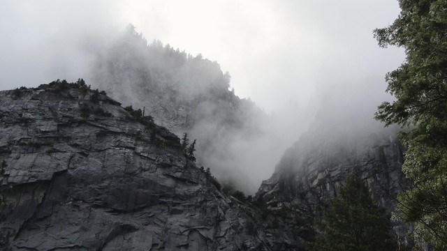 Clouds and Cliffs